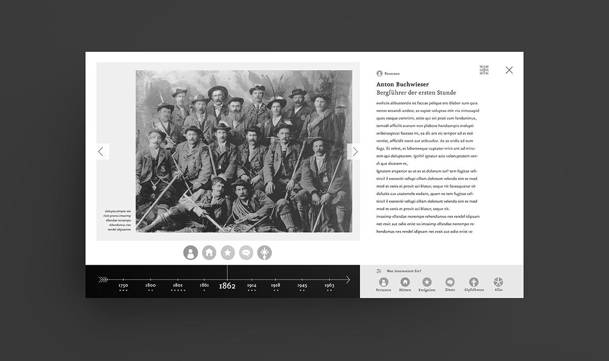 Interactive Information Screen